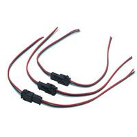 führte drahtverbinder großhandel-3-poliger LED-Stecker (Stecker / Buchse) JST SM 3-poliger Stecker (Kabel) für LED-Module mit LED-Lichtstreifen WS2811