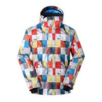 Wholesale online clothing shops resale online - Ski Jacket Men Windproof Waterproof Snowboard Jacket Men Winter Mountain Skiing Clothes Winter Coat China Shop Online