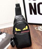 çapraz vücut çantası masculina toptan satış-Erkekler Çanta Rahat Seyahat Bolas Masculina kadın Messenger Çanta Naylon PU Bel Crossbody Omuz Çantası