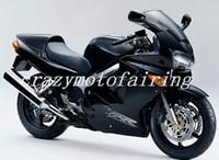 ninja 636 ouro preto venda por atacado-Novo ABS molde Fairing Fit Para Honda 1998 1999 2000 2001 VFR800 98 99 00 01 VFR 800 Blackbird Motocicleta Carenagens conjunto personalizado preto legal