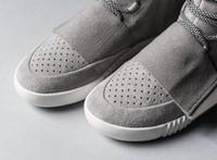 Wholesale glowing chain resale online - Designer boot men s glow dark grey triple black high ankle sneaker women s sneaker skate shoe size