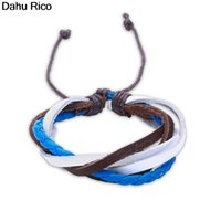 roxi armband großhandel-bileklik bilezikleri cuero deri Leder PU roxi Nepal Lima Peru geben Verschiffenschmucksachen Dahu Rico Armbänder frei