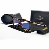 schwarze quadratische brillengläser großhandel-MINCL Sexy leopard Rahmen Quadratisch Brillengestell Klare Linse Myopie Schwarze Sonnenbrille Zwei Ton Niet Brillen Frames Frauen NX