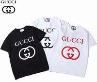 yaka yaka gömlek erkek toptan satış-2019 Yaz Marka Nakış yaka Yaka Polo Gömlek erkekler Kısa Kollu Casual Erkek Gömlek Slim Fit Polo Homme Pamuk kadın T-shirt