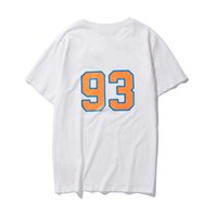 мужские дизайнерские имена оптовых-BBAAPPEE + Knicks совместное имя футболка хлопок весна лето мужская женская одежда дизайнер футболка с короткими рукавами футболка желтый имеют логотип