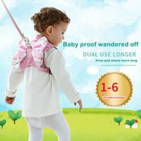 cintos de segurança de criança bebê mochila venda por atacado-Crianças Segurança Harness Leash Anti Perdido Backpack Strap Bag para caminhadas da criança do bebê