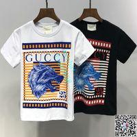7c174818b9c1b Enfants Designer Vêtements Fille Bébé Garçon De Mode Imprimer Coton  Vêtements Designer Hommes Designer T-Shirt Respirant Marque De Mode De Luxe  A-7