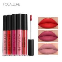 Wholesale focallure makeup for sale - Group buy FOCALLURE Sexy Women Matte Lip Gloss Liquid Long Lasting Proof Makeup Cosmetics Beauty Keep Hours