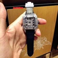 Wholesale fine leather watch straps for sale - Group buy Diamond men s fine watch black leather strap top trendy hot selling popular watch automatic mechanical classic watch