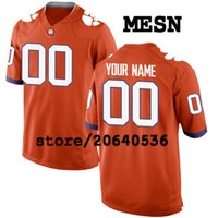 Cheap Custom Clemson Tigers College jersey Mens Women Youth Kids  Personalized Any number of any name Stitched Orange White Football jerseys 2ab68ac98