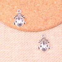 ingrosso fascini beatles-107pcs charms beatles pendenti placcati argento antico misura gioielli facendo risultati accessori 19 * 13mm