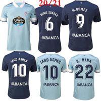 Wholesale home top for sale - Group buy Top thai quality Celta Vigo soccer jersey Celta de Vigo BONGONDA HERNANDEZ NOLITO home away football shirt jerseys