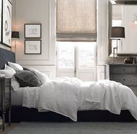 Wholesale cooling sheets bedding resale online - Pure Linen Sheet Set Soft cool summer bedding sets100 Linen Include Flat Sheet Fitted Sheet Pillowcase m bed