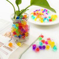 Wholesale flower soil resale online - 50g Water Beads Expansion Foam Bead Planting Soilless Culture Balls Garden Household Decoration Flower Crystal Soil
