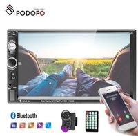 video video usb venda por atacado-Podofo Autoradio Rádio Para Carro 2 Din Rádio Do Carro Do Carro DVD Player 7