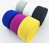 düşman şerit toptan satış-2 cm 4 cm Genişlik Yüksek kalite Elastik Foe FE renkli şerit bandı diy dekorasyon toptan Ücretsiz kargo