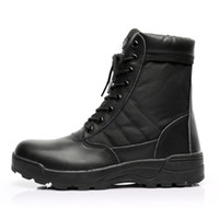 Wholesale Outdoor Men Desert Tactical Military Boots Mens Work Safty Shoes SWAT Army Boot Ankle Lace up Combat Sport Boots