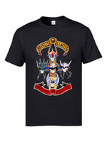 Wholesale zodiac 3d resale online - Guns n Roses Saint Seiya IKKI Zodiac T Shirt Funny Japanese Anime Manga Harajuku Comic Tshirts D Print Designers Men Tees