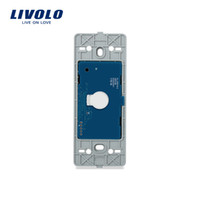 Wholesale touch bell for sale - Group buy Livolo US Standard Base Of Touch Screen Wall Door Bell Switch AC V Without Glass Panel