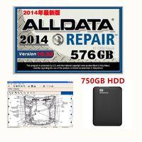 alldata autoreparatur software großhandel-2019 Hot NEW Ankunft alldata V10.53 Autoreparatur-Software und alle Daten Autosoftware mit technischer Unterstützung für PKW und LKW USB 3.0