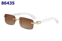 ahşap erkek bayan güneş gözlüğü toptan satış-2019 yeni kadın ve erkek moda optik metal çerçeveleri İcra Yarım Jant Dikdörtgen Metal Ahşap Gözlükler Şeffaf Lens Güneş Gözlüğü