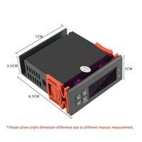 módulo arduino humedad al por mayor-Controladores Controlador digital de humedad del aire 1% RH - 99% de humedad relativa higrostato Humidistato humidificación deshumidificación DC12V AC220V AC110V