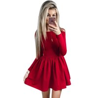 Distribuidores De Descuento Lindos Vestidos Rojos Casuales