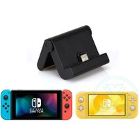 Wholesale nintendo switch docks resale online - Foldable Charging Dock for Nintendo Switch Lite Nintendo Switch Switch Lite Charger Stand Station with LED indicator