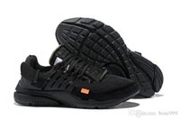Wholesale running shoes prestos for sale - Group buy 2019 New Fashion Classic Off PRESTO BR QS Running Shoes Men Women Prestos Ultra BR QS black yellow White Outdoor Jogging Sneakers Shoes