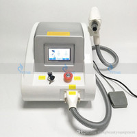 Wholesale touch screen laser tattoo removal machine resale online - 2000MJ Touch screen w Q switched nd yag laser beauty machine tattoo removal freckle pigment spot removal nm nm nm