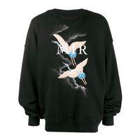 schwarzes weißes sweatshirt großhandel-LuxuxMens Designer Hoodie Hip Hop Mode-Qualitäts-Männer Frauen SweatshirtsHoodies Unisexentwerfer-Pullover für Männer