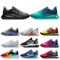Wholesale lighting football resale online - Total Eclipse Sea Forest Mens Women Running Shoes Volt Northern Lights Day Sunrise Be True White Mens Trainers Sport Sneaker Size