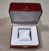 ingrosso 2836 casella-Auto di lusso di alta qualità orologio originale scatole di carta scatole di cuoio borsa per Roadster Baignoire Ballon Bleu Tonneau 2824 2836 7750 Orologi