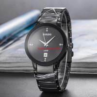 relógios originais para homens venda por atacado-Mens watch marca de moda homem de aço inoxidável azul ouro preto relógios Ultra Fino calendário à prova d 'água Original Menwatch