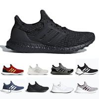 Acheter Adidas Ultra Boost 4.0 UB Ultraboost GAME OF THRONES Chaussures De Course Blanc Walker House Stark Lannister Femmes Hommes Formateur Respirant