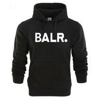 логотип стиля m оптовых-Aliexpress hot style street popular logo male style hoodie
