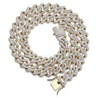 новые бриллиантовые подвески оптовых-2019 новый хип-хоп бриллиантовое колье из микро кубического циркония с медным кулоном, колье с бриллиантами, 18-каратное золото