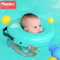 Wholesale inflatable rings for baby swimming for sale - Group buy Mambobaby Neck Float Circle For Bathing No pump air Safety Swimming Ring Free inflatable collar Quality Baby Neck Swimming Ring