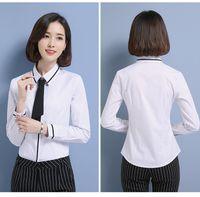 ingiliz mama kızarmış kadınlar toptan satış-Yeni Tasarım İngiltere Kadınlar Uzun Kollu Ekose Gömlek En İlkbahar Sonbahar Casual Büro Bluz blusas Mujer De Moda