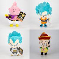 Wholesale japanese anime plush stuffed resale online - God Of Saiyan Plush Toys Dragon Ball Z Stuffed Animals Doll Japanese Anime Cartoon Kids Gift rn F1