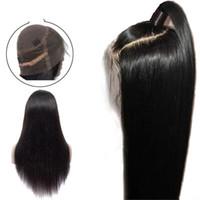 perruques achat en gros de-Perruques Full Lace perruques brésiliennes de cheveux humains Lace 360