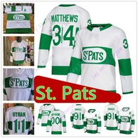 Wholesale toronto st pats jersey online - 2019 Custom Toronto St Pats Maple  Leafs Jersey Mitch a522087bb