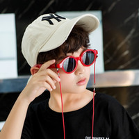 Wholesale toddler boys sunglasses resale online - cute suqare children sunglasses brand kids girls boys toddler sun glasses infantil