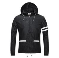 ingrosso il rivestimento degli uomini di cappuccio staccabile di modo-2019 primavera e autunno venire mens nuova moda giacca di alta qualità con cappuccio cappuccio staccabile di lusso ~ top uomini giacca di design di alta qualità
