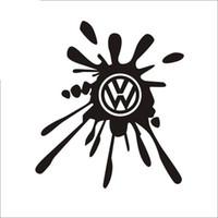 Wholesale vw racing stickers resale online - car VW racing shop service SUV car decal vinyl sticker CA