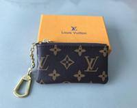 klasik deri bayanlar sikke çantası toptan satış-Fransa tarzı Tasarımcı sikke kılıfı erkekler kadınlar lady Lüks deri sikke çanta anahtar cüzdan mini cüzdan seri numarası ...