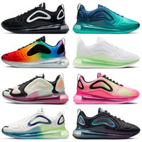 çalışan eğitmenler ayakkabı max toptan satış-Ayakkabı nike air max 720 airmax New 2020 STOCK X Shoes running designer sneakers for mens womens TOP QUALITY oreo pink bast fossil pistachio frost fashion speed trainers