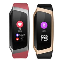 отслеживание gps браслетов оптовых-Браслет артериального давления монитор сердечного ритма умный браслет часы GPS активность трек приложение фитнес для Samsung Galaxy S10 Huawei P20 Lite