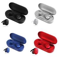 fone de ouvido bluetooth móvel universal venda por atacado-Portátil DT-1 TWS Sem Fio Mini Bluetooth Fone de Ouvido Estéreo Portátil fone de Ouvido i13 / i14 / i10 / i30 / i60 / i100 / i200 Telefone Esporte Ouvido pk