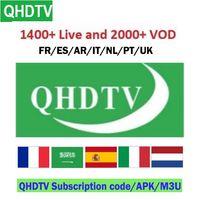 iptv kutuları toptan satış-Akıllı iptv en ucuz qhdtv abonelik qhdtv apk leadcoolL ANDROID TV BOX İÇİN kodu uzatmak